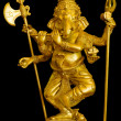 Ganesh Gold sculpture — Stock Photo