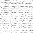 Abstract hand-drawn text. Seamless pattern. — Stock Photo