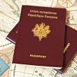 Stock Photo: Passports