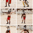 Stock Photo: Gladiators