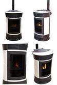 Four stoves — Stock Photo