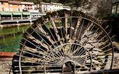 Paddla hjul — Stockfoto