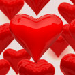 Постер, плакат: Shiny hearts