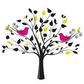 Birds 1 — Stock Vector