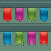 Ribbons — Stock Vector