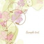 Floral frame — Stock Vector #10556884