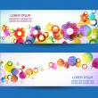 Banners 3 — Stock Vector