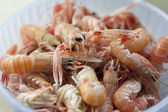 Scampi in the pot — Stock Photo
