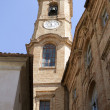 Church of corinaldo city - Stock Photo
