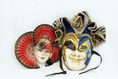 Two Carnival mask — Stock Photo