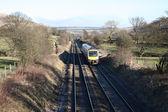 Rural Railway Line. — Stock Photo
