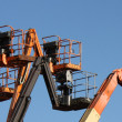 Stock Photo: Cherry Picker Lifts.