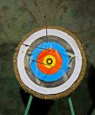 Archery Target. — Stock Photo