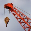 Stock Photo: Strong Mobile Crane.
