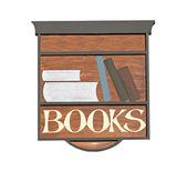 Book Shop Sign. — Стоковое фото