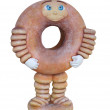 Stock Photo: Doughnut Promotional Figure.