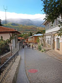 Old street in Gurzuf, Crimea, Ukraine — Stock Photo