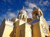 Orthodox church in Feodosia, Crimea, Ukraine — Stock Photo