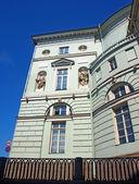 Une des façades de l'ermitage à saint-pétersbourg, russie — Photo