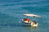 Fishing boat on a sunny day — Stock Photo