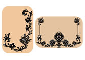 Vector Ornate Frame — Stock Vector