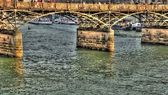 Pont des Arts Bridge, Paris, France — Stock Photo