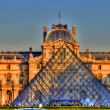 Louvre Museum, Paris, France — Stock Photo