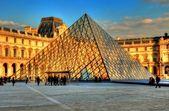 Louvre Museum, Paris, France — Stock Photo