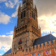 Stock Photo: Belfry in bruges, belgium