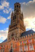 ブルージュ、ベルギーの鐘楼 — ストック写真