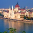 Parliament building, budapest, hungary — Stock Photo