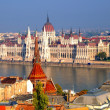 Stock Photo: Parliament building, budapest, hungary