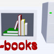 Stock Photo: Ebooks illustration