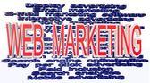 Online marketing terminologies — Stock Photo