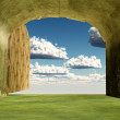 Heaven entrance — Stock Photo