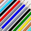 Stock Photo: Colored pencils 3d