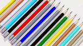 Colored pencils 3d — Stock Photo