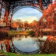 Eiffel tower — Stock Photo #9196050