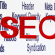 Stock Photo: Seo terminologies