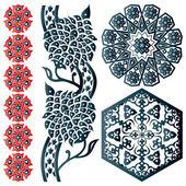 Sommige islamitische ontwerpelementen — Stockvector