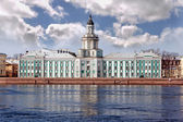 Kunstkamera museum in st. Peterburg — Stock Photo