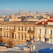 Roofs in center of St. Petersburg - Stock Photo