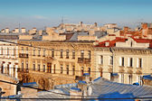 Roofs in center of St. Petersburg — Stock Photo