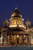 St. Isaac's Cathedral in Saint Petersburg — Foto de Stock