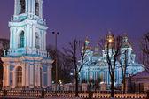 Catedral de san nicolás en san petersburgo — Foto de Stock