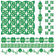 Ornaments for St. Patrick`s Day — Stock Vector