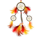 Grande luminoso dreamcatcher — Foto Stock
