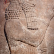 Stock Photo: Ancient relief of Sumer king