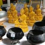 Bid Buddha temple inside — Stock Photo
