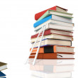 Stack of books. education concept — Stock Photo